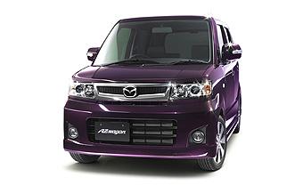 Mazda AZ-Wagon Custom Style DI (FWD model with 4-speed automatic transmission