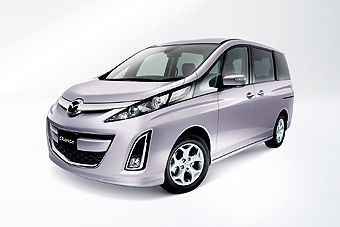 Mazda Biante 20S (FWD model with 2.0-liter direct injection engine and five-speed automatic transmission, equipped with factory-installed options)