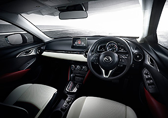 All New Mazda CX 3 Interior (Japanese Specification)
