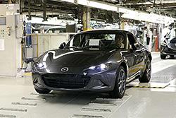 OCT-5-2017. Mazda Starts Production of the Mazda MX-5 RF