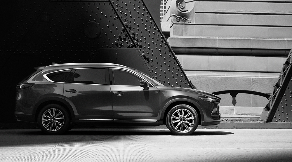 Mazda Mazda Reveals Exterior Of New Mazda Cx 8 Crossover Suv News