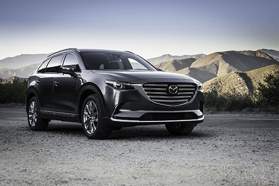 2016 Mazda CX-9 (with U.S. specifications)