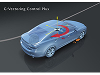 Mazda Announces G-Vectoring Control Plus<br />to Improve Vehicle Handling